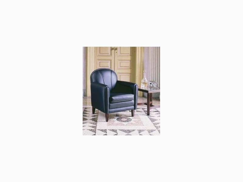 821, Sessel mit eleganten Abgang, für Hotel