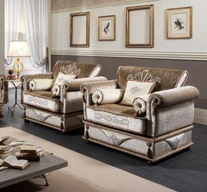 EINZIGARTIGER Sessel, Klassischer Sessel mit abnehmbarem Bezug
