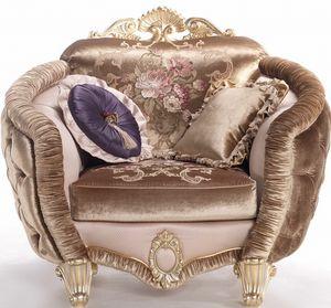 Isabelle Sessel, Umhüllender Sessel mit luxuriösen Details