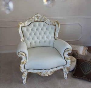 La Blanche, Klassischer Sessel für Wohnzwecke geeignet