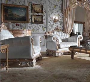 Lariana Sessel, Luxuriöser Sessel, handgeschnitzt