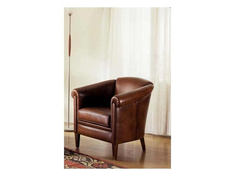Tilburg, Hand arbeitete Sessel, gepolstert, für Luxus-Zimmer