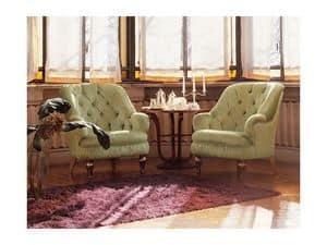 Viola, Sessel im klassischen Stil, geringe Größe, confortable