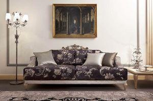 337D, Klassische Luxussofas für das Wohnzimmer