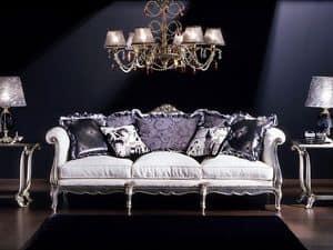 3380 Louis XV Sofa, 3er-Sofa, Louis XV-Stil, zu Klassikern Wohnzimmer