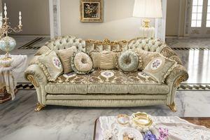 Aida Sofa, Luxuriöse und bequeme klassische Sofas