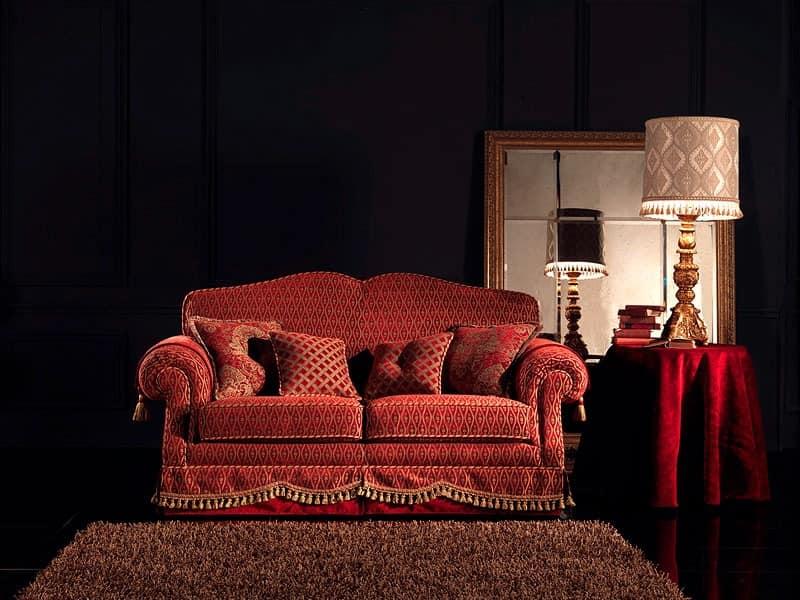 Alessandra, Tufting-Sofa, 2-Sitzer, nach Maß, für das Wohnzimmer