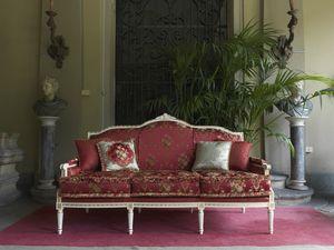 Alice Sofa, Sofa im klassischen Stil Louis XVI