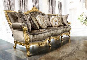 Anastasia Sofa, Luxuriöses getuftetes Sofa