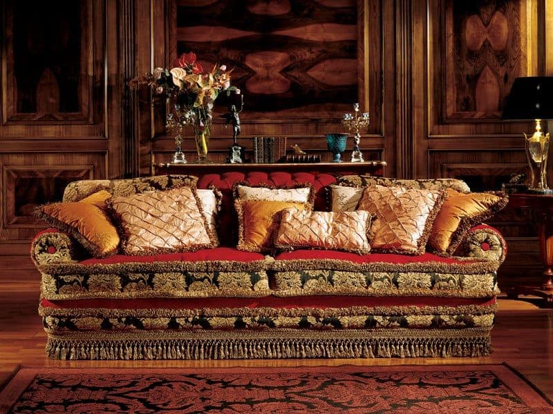 Angelica sofa, Luxus-Sofa, Handarbeit, klassischen Stil