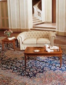 Art. 1009, Zweisitzer-Sofa mit gesteppter Rückenlehne und Armlehnen