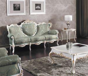Art. 3140, Majestätisches geschnitztes Sofa