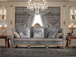 Art. 981, Klassisches Sofa, geschnitzt