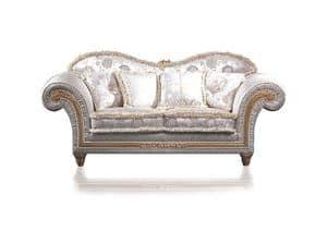 Art. EX 32 Excelsior, Zweisitzer-Sofa, für klassische Wohnzimmer und Luxushotel