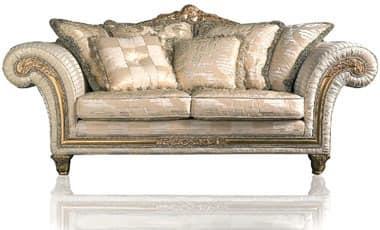 Art. IM 22 Imperial, Luxury klassischen Sofa, mit kostbaren Stoffen gepolstert abnehmbarer