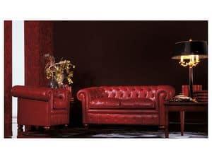 Chester, Klassisches Sofa für Wohnzimmer