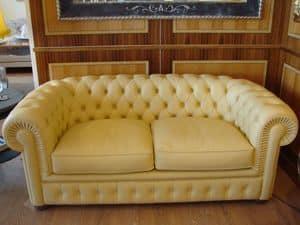 Chester, Tufting-Sofa, klassisch, mit 2 Sitzen, für Wohnzimmer