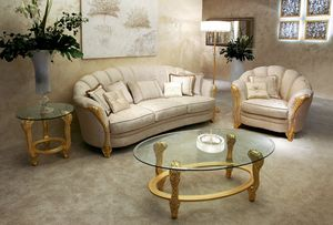 Elettra, Klassisches handgefertigtes Sofa