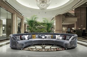 ELISIR comp.01, Halbkreisförmiges modulares Sofa