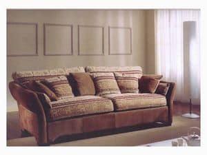 Ginevra Sofa, Klassische Sofa für Wohnzimmer