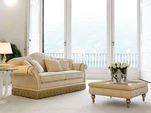 Glicine, Sofa in Luxus-klassischen Stil, für raffinierte Aufenthaltsräume