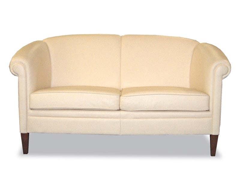 Helmond Sofa, Klassische Sofa in Leder bezogen, für die Aufnahme