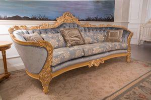 Nobile Sofa, Handgefertigtes Sofa