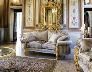 Opera 2-Sitzer-Sofa, Sofa von Hand gefertigt, klassischen Stil