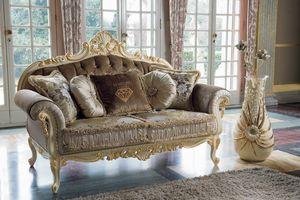 Opera Sofa, Sofas mit geschnitzter Struktur