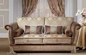 RIALTO, 2-Sitzer-Sofa, klassischer Stil