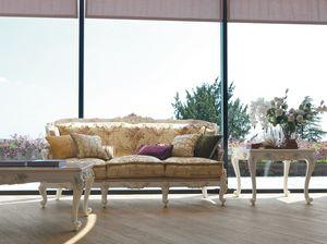 Serena Sofa, Klassisches Sofa, handwerklich gefertigt
