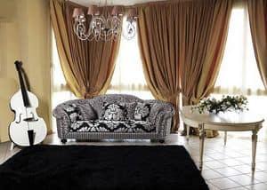 Silvia sofa, Luxus klassisches Sofa für Wohnzimmer
