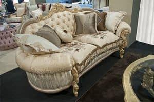 Sinfonia 2-Sitzer-Sofa, Sofa Klassiker, gesteppte Rückseite, für elegante Lounges