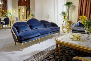 Sofa 4970 im Louis XVI-Stil, Klassisches Louis XVI-Sofa