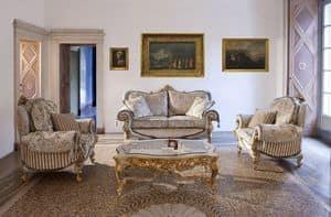 Touileries, Sofa und Sessel für Zimmer im klassischen Stil