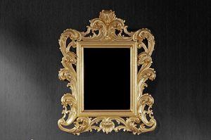 Ricciolo kleinen, Spiegel im Epochenstil für Hotels und Restaurants geeignet