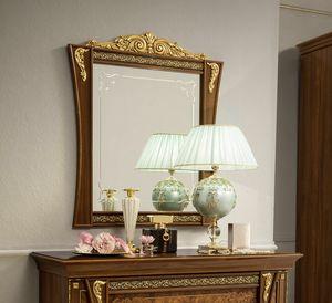 Aida Spiegel, Klassischer Spiegel mit Holzrahmen