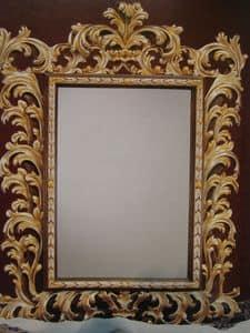 Art. 101G, Spiegel mit Rahmen, klassischen Luxus, Stil '700 Tuscan