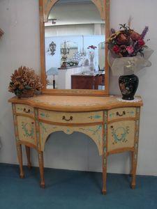 Art. 154, Liberty Style Spiegel mit Holzrahmen