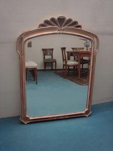 Art. 158, Spiegel mit Rahmen von Handwerkern verziert