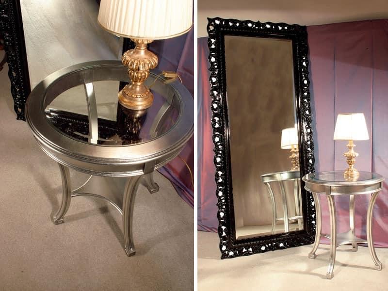 Art. 1788 Audrey, Rechteckigen Spiegel, fertigen Rahmen im klassischen Stil