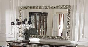 ART. 2754, Spiegel mit Rahmen mit silbernen Zierleisten