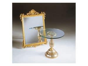 Art. 401, Spiegel mit Blattgold Finish, antike, für Hotel