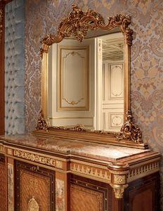Art. 413, Klassischer geschnitzter Spiegel