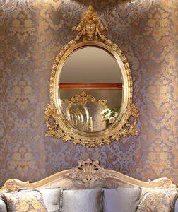 Art. 418, Geschnitzter ovaler Spiegel