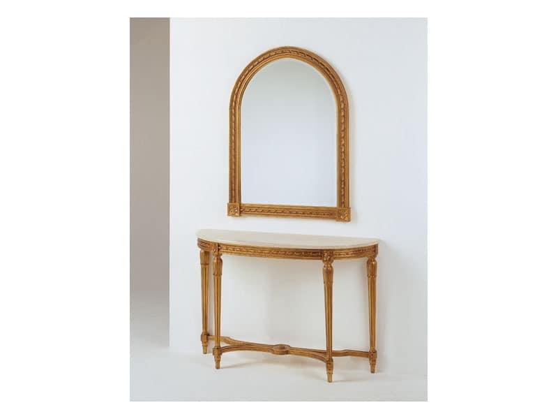 Art. 700/S, Geschnitzte Holzspiegel, für klassische Wohnzimmer