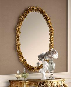 Art. 801, Ovaler geschnitzter Spiegel