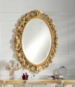 Art. 804, Ovaler Spiegel in Goldoptik