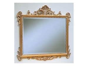 Art. 811, Luxus klassischen Spiegel, gebeizt Finish, für Hotels