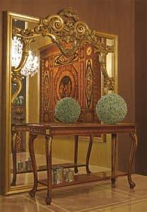 Art. 893, Großer Spiegel mit handgeschnitzten Holzrahmen